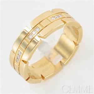 Alliance Homme Cartier : cartier alliance or jaune diamant ~ Voncanada.com Idées de Décoration