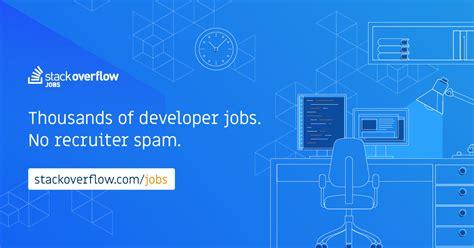 developer jobs  netherlands stack overflow