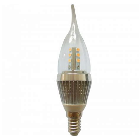 led light 7 watt e14 base led candle bulb 60w 60watt