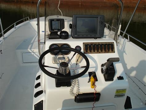 Century Boats Of Ta Bay by Century 2201 Bay Boat With 150 Hpdi Reduced The Hull