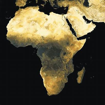 Africa Map Population Density Maps Process Vaccination
