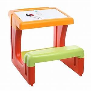 Bureau Bébé 2 Ans : smoby le petit ecolier achat vente table et chaise 3032160289503 cdiscount ~ Teatrodelosmanantiales.com Idées de Décoration