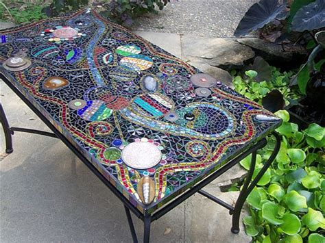 mosaic patio table ancient for the contemporary home mosaic tables six