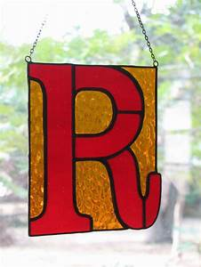 37 best images about sg letters on pinterest glass art With stained glass letters