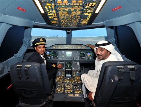 tim decker aviation airbus a380 simulator dubai mall alles over dubai
