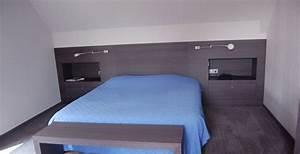 pls agenceur With tete de lit parquet