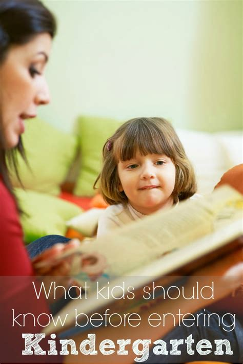 what should a child before kindergarten the typical 348 | What kids should know BEFORE entering Kindergarten. Tips from a former Kindergarten Teacher to help them be prepared and succeed.