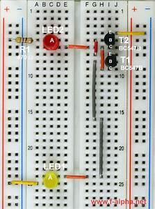 Led Schaltungen Berechnen : f experiment 14 led als lichtsensor ~ Themetempest.com Abrechnung