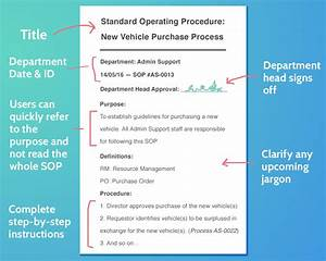 What Is An Sop  16 Essential Steps To Writing Standard