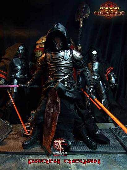 Revan Darth Star Swtor Figure Custom Wars