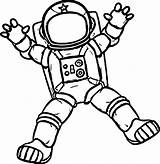 Astronaut Coloring Space Preschool Moon Printable Adult Holding Glass Activities Cosmonaut Cool Face Planets Crafts Spring Rocket Wecoloringpage Mermaid Spacesuit sketch template