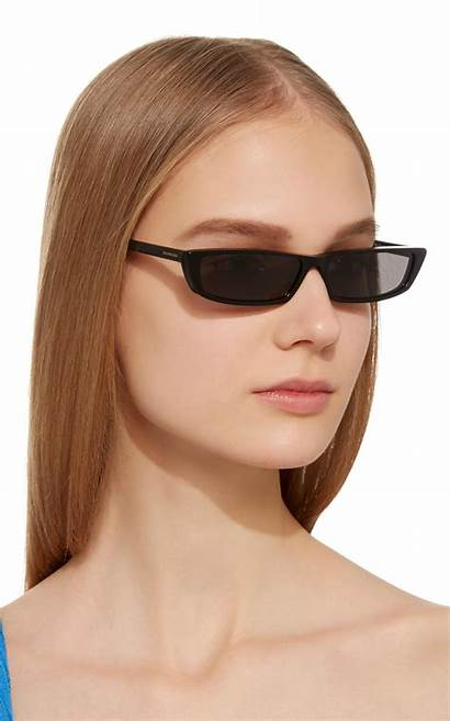 Sunglasses Acetate Balenciaga Slim Retro Accessories