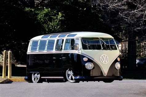 volkswagen custom  window bus resto mod amazing