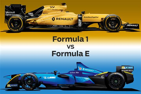 formula 3 vs formula 1 formula 1 vs formula e evo
