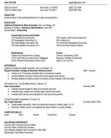 best resume format for bartenders sle resume format march 2015