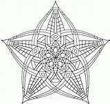 Coloring Geometric Pages Mandala Animal Printable Flower Simple Complex Sheets Geometry Fun Adult Abstract Mandalas Popular Coloringhome Getcolorings sketch template