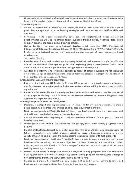 Detailed Resume by Detailed Resume