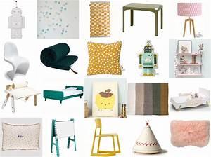 couleur chambre d39enfant a chaque tendance sa deco With chambre bébé design avec petit arbuste fleuri persistant