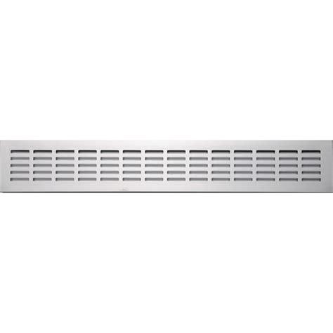 grille d a 233 ration aluminium anodis 233 l 50 x l 8 cm leroy merlin