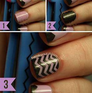 Simple Nail Designs Step By Step With Tape   www.imgkid ...