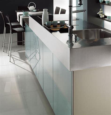 cuisine facade verre faeades meubles de cuisine en verre image sur le design