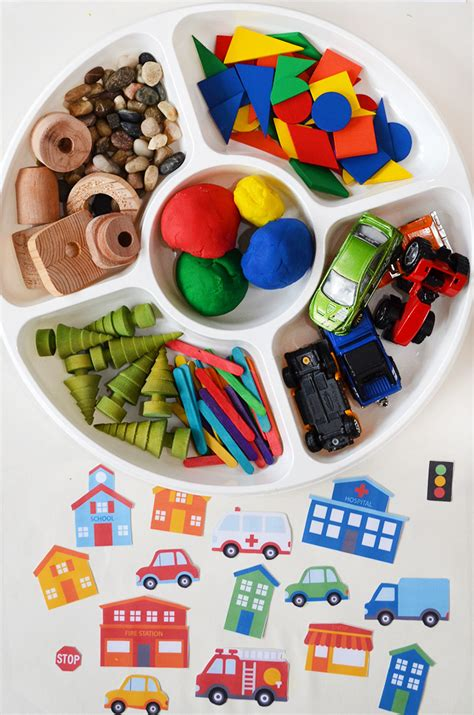 City Play Dough Mats and Accessories - Picklebums Shop