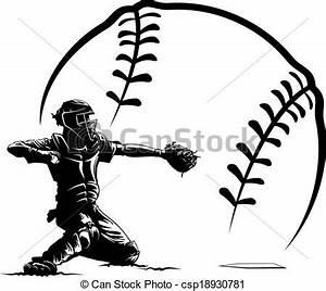 Baseball Player Clipart Catcher | Clipart Panda - Free ...