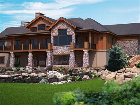 superb house plans  walkout basement  ranch house plans  walkout basement