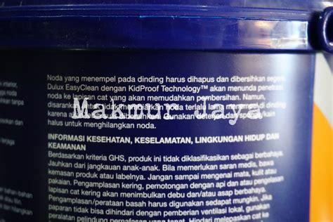 Merk Cat Tembok Anti Noda jual dulux easyclean anti noda tinting warna cat tembok