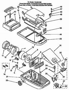 Kenmore Vacuum Cleaner Parts