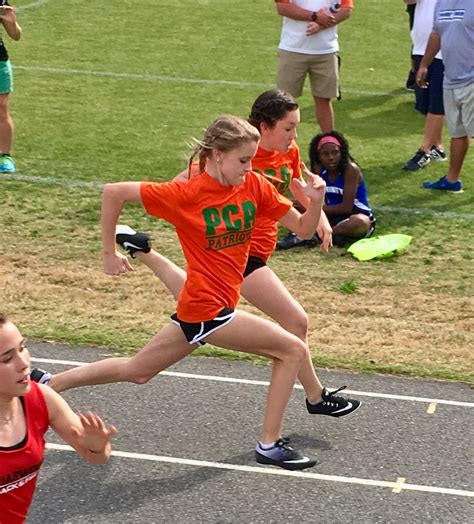 pinewood christian academy middle school track attends trinity ribbon meet