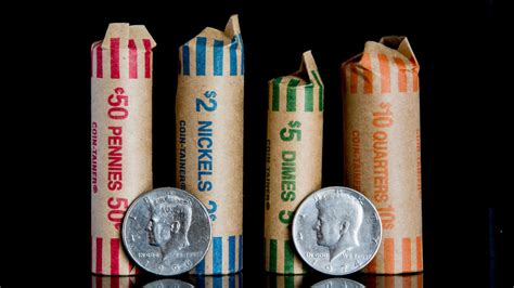 how many dimes are in a roll how many coins are in a roll komo