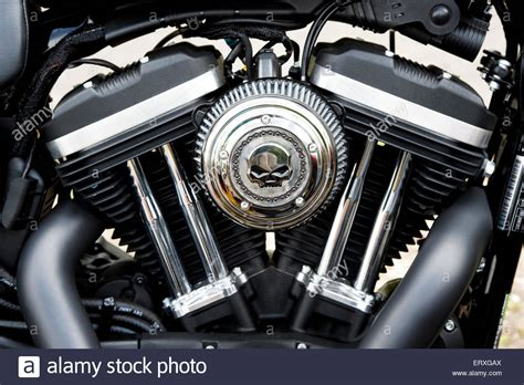 Gambar Motor Harley Davidson Iron 883 by Harley Davidson Iron 883 Motorcycle V Engine Stock