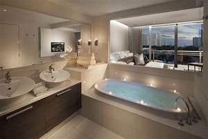 Photo Salle De Bain Moderne : 10 fabuleuses salles de bain pour vous inspirer bricobistro ~ Premium-room.com Idées de Décoration
