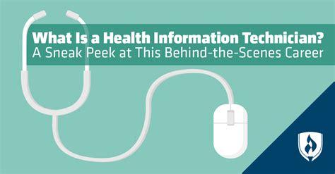 health information technician  sneak peek