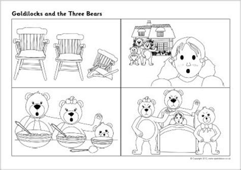goldilocks    bears sequencing sheets sb
