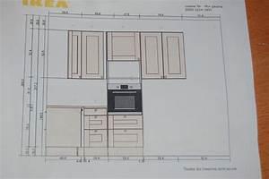 hauteur meuble de cuisine idees de decoration interieure With hauteur plan de cuisine