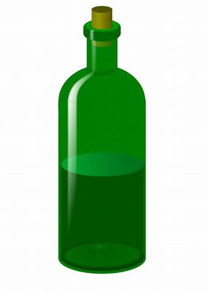 Bottle Clip Clipart Glass Wine Bottles Champagne