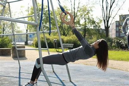 Pull Workout Playground Total Ring Ups Doing