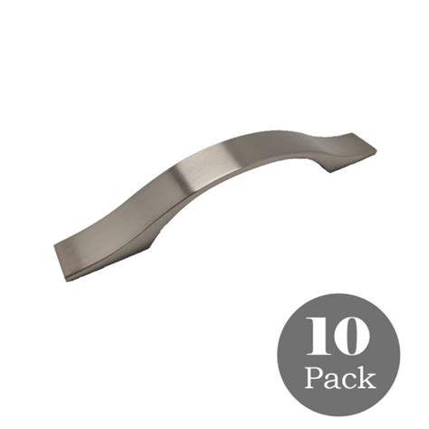 Cabinet Hardware 3 Inch Centers by Shop For Satin Nickel Kitchen Cabinet Handles Pulls 3 3 4