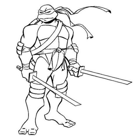 Free Leonardo ninja turtles coloring page Superheroes