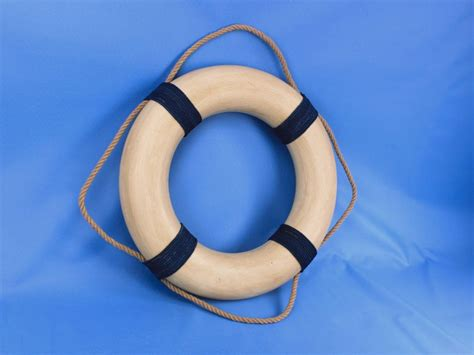buy vintage decorative white lifering  blue rope bands