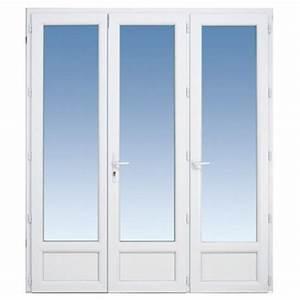 Portes fenetres lapeyre toute porte d entree en for Double porte fenetre