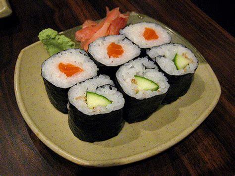 fiche cuisine recette sushi maki au concombre recettes asiatiques restaurants asiatiques asie360