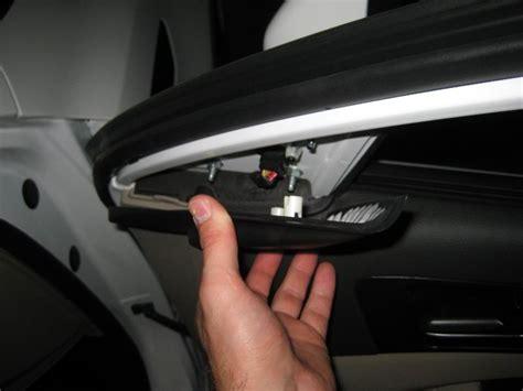 repair voice data communications 2009 kia optima interior lighting removing inner door panel on a 2012 mercedes benz cls class interior drivers door panel