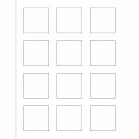 Templates print to the edge square labels 12 per sheet for Avery 2x2 label template
