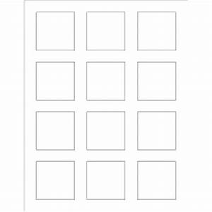 templates print to the edge square labels 12 per sheet With word label template 12 per sheet
