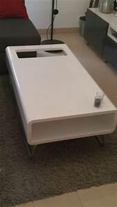 Table Basse Fly Occasion : table laque blanche clasf ~ Teatrodelosmanantiales.com Idées de Décoration