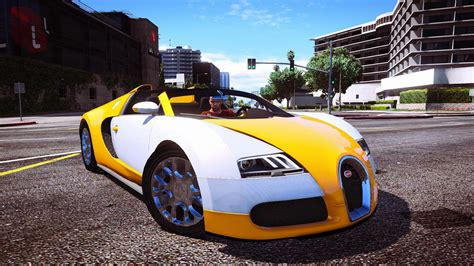 Grand Theft Auto V Bugatti
