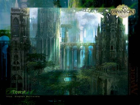 Land R Wallpaper by Wallpaper Of The Week Ravnica Forest Magic The Gathering